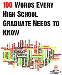 100 words every high school graduate need to know. Do you?