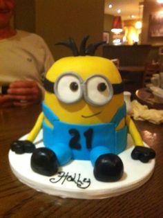 ... minion cake more 21st birthday minion cakes 18th cake birthday minion