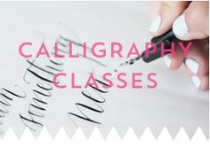 Blue Eye Brown Eye Online Calligraphy Classes