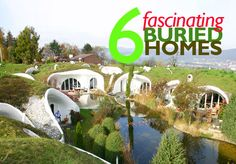 6 incredible underground homes! http://bit.ly/1g7Kdtg