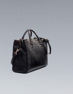 OFFICE CITYBAG - Handbags - Woman - ZARA United States