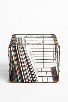 Wire Locker Basket - Urban Outfitters