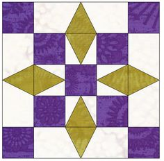 Quilty Delights Block of the Month - EwesQuilting.com, Quilt Patterns Designed By Carole Henell