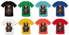 ★ StrangeStore on Spreadshirt! ★ Paul Stickland Kid's Robot T-Shirts #strangestore #robots #kids
