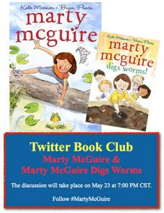Marty McGuire Book Club chat online - May 23rd!