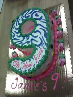 Number Cake.