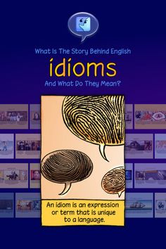 "English Idioms Illustrated ($0.00) What is the meaning behind English idioms, and where do they come from?    Join Professor Potts to discover the secret history of more than 160 beautifully illustrated English idioms, from ""Achilles' heel"" to ""Wrong side of bed""."