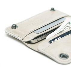 iPhone wallet.