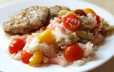 Summer Rice 'Salad'