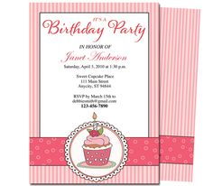 Kids Party : Playful Kids Birthday Party Invitation Template