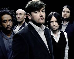Musical group Elbow.