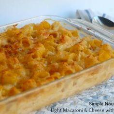 Light Macaroni and Cheese with Cauliflower Recipe
