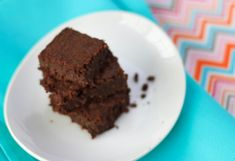 The Vegan version of the 37 calorie brownie
