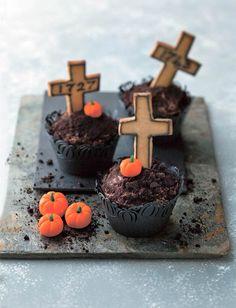 Graveyard Halloween Cupcakes Recipe
