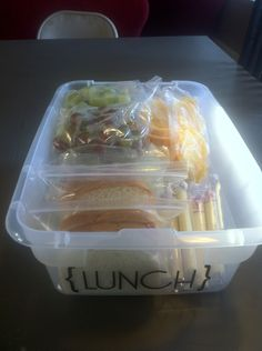 Pre made sandwiches