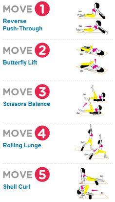 Foam roller exercises.