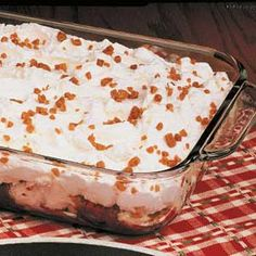 Angel Toffee Dessert Recipe | Taste of Home Recipes