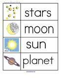 Space Theme Activities for Preschool PreK and Kindergarten