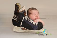 hockey newborn photo | Cute Baby Photography Pictures | Toronto Baby Photography » Baby ...