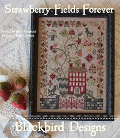 Strawberry Fields Forever - Cross Stitch Pattern