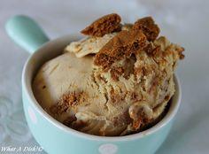 Biscoff (Speculoos) Ice Cream
