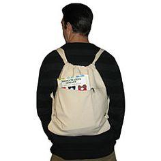 Cinch Top Backpack dharma trading