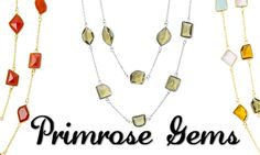 The Celestine necklace by PrimRose Gems comes in ten vibrant gemstone varieties. Wear it long and loose, double it up, or even wrap your wrist with this versatile and lady-like accent! Available for 78% OFF! http://chictreat.com chic treat