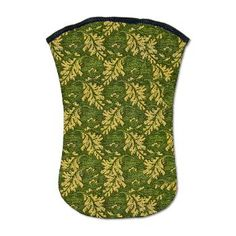 Golden Leaves on Green Moss Kindle Sleeve    A pretty vintage design featuring golden leaves scattered across a green velvet, moss like background.  $34.95