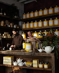Bellocq Tea Atelier; Greenpoint, NY (photo by Anna Williams)
