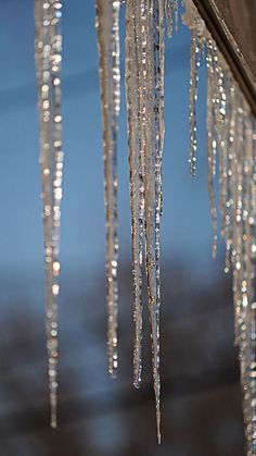 Holiday icicles