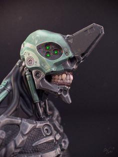 robots, anim, mecha, behance, neon genesis evangelion, art, inspir, genesi evangelion, unicorn