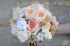 Cotton bouquet. Ramo