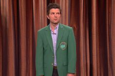 Adam Scott Dons The Green Jacket