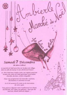 Marché de Noël, Ambierle, Rhône-Alpes