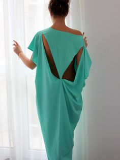 Open Back Turquoise