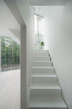 Life in spiral / Hideaki Takayanagi #white #simple