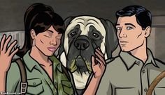 Archer S4E11: The Papal Chase by Will Judy on Blue Blood http://ameliag.com/2013/03/archer-s4e11-the-papal-chase-by-will-judy-on-blue-blood/