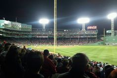 Grab a Red Sox game at Fenway Park.