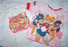 sailor moon tshirts