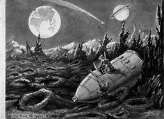 Le voyage dans la Lune - A Trip to the Moon by Georges Méliès, father of Sci-Fi Movies