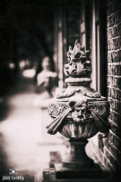 On the Streets of Savannah, Black and white photography in Savannah