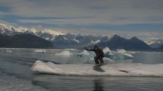 Alaska wakeboarding