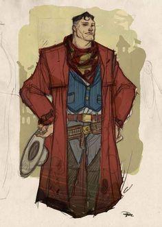 Old west Superman