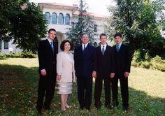 Royal family of Serbia - Their Royal Highnesses, Prince Peter, Crown Princess Katherine, Crown Prince Alexander II, Prince Philip and Prince Alexander