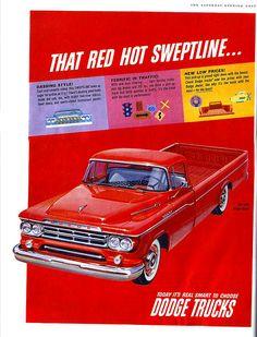 1959 Dodge D-100 Sweptside Pickup Truck
