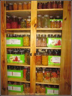 Canning Cupboard