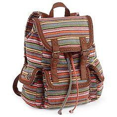 Olsenboye Striped Backpack