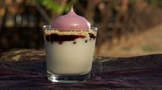 Yum! Make this huckleberry parfait recipe with #huckleberry meringue, #yogurt mousse, and lemon streusel. (via @PBS Food)