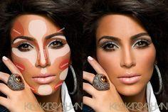 Guide to Contouring Kim-Kardashian-Contouring-Makeup-Guide-Pinterest-5 – Kim Kardashian: Official website