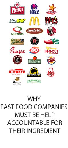 ethical and social responsibility of fast food restaurants The starbucks mission statement reflects the values of corporate social responsibility learn about our contribution to communities like yours.